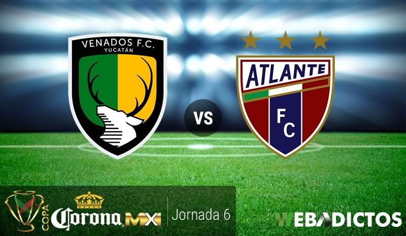 Venados vs Atlante, Jornada 6 Copa MX Clausura 2017 | Resultado: 1-1 - venados-vs-atlante-j6-copa-mx-clausura-2017