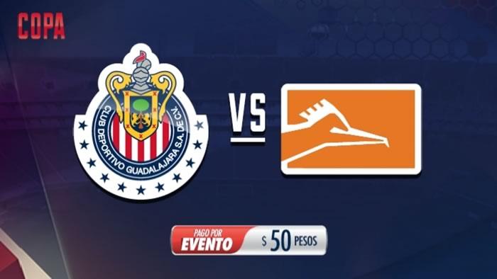 Chivas vs Correcaminos, Octavos de la Copa MX C2017   Resultado: 2(6)-(5)2 - chivas-vs-correcaminos-chivas-tv