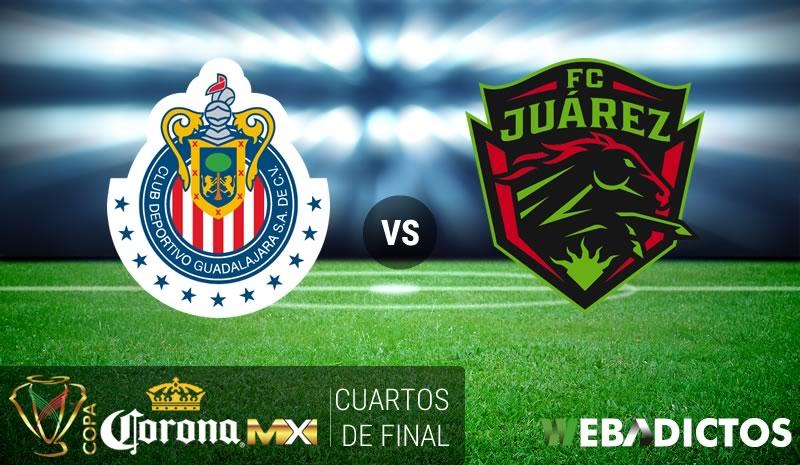 Chivas vs Juárez, Cuartos de Final Copa MX C2017 | Resultado: 3-2 - chivas-vs-juarez-cuartos-copa-mx-clausura-2017