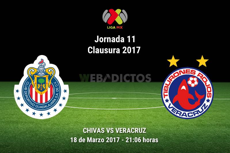 Chivas vs Veracruz, Jornada 11 Clausura 2017    Resultado: 2-0 - chivas-vs-veracruz-j11-clausura-2017