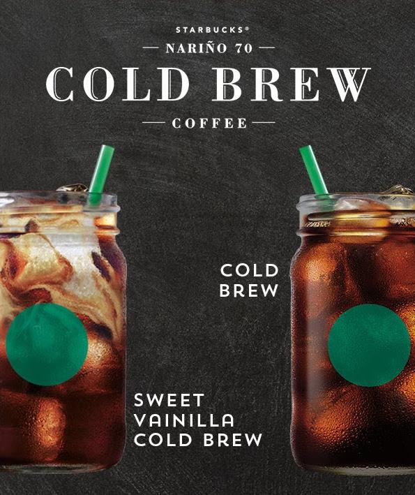 Starbucks Cold Brew, un nuevo café artesanal llega a México - cold-brew