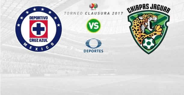 Cruz Azul vs Jaguares, Jornada 9 del Clausura 2017   Resultado: 2-0 - cruz-azul-vs-jaguares-j9-clausura-2017-en-vivo