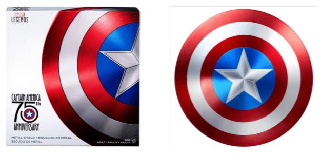 Hasbro presentará su nueva colección 2017 en la expo LA MOLE Comic - escudo-75-aniversario-capitan-america