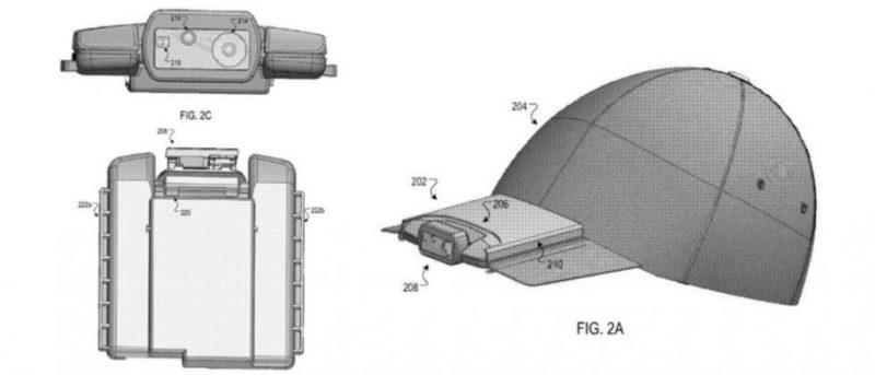 Google podría competir con Snapchat con esta gorra inteligente - google-gorra-inteligente-800x343