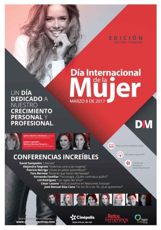 Cinépolis sede de las conferencias del Día Internacional de la Mujer - grandes-ponentes-se-presentaran-en-el-dia-internacional-de-la-mujer-para-hablar-de-los-temas-que-enfrenta-el-genero-femenino-actualmente-560x800