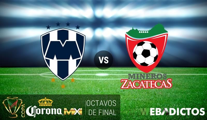 Monterrey vs Mineros, Octavos de Copa MX C2017   Resultado: 4-0 - monterrey-vs-mineros-octavos-copa-mx-clausura-2017