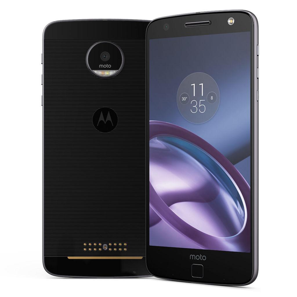 Motorola ya mostró al Moto Z 2017 y nosotros ni en cuenta - moto-z-blk