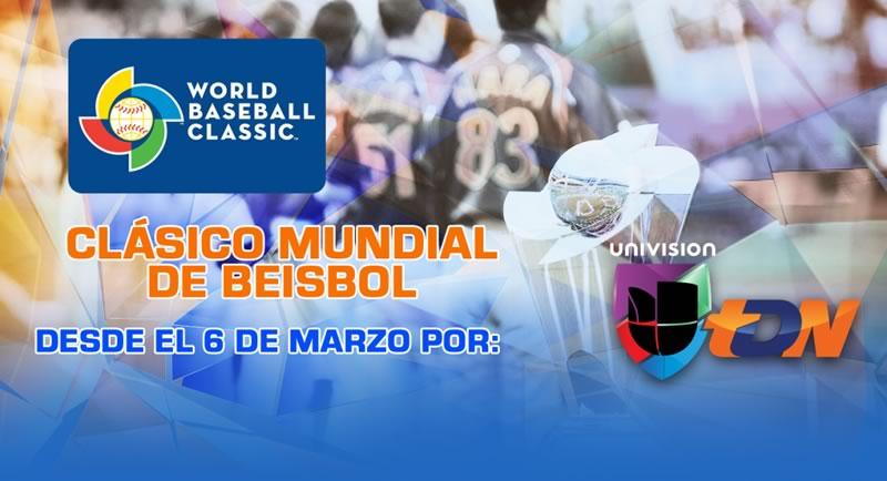 Ve los partidos del Clásico Mundial de Beisbol 2017 por internet - mundial-de-beisbol-2017
