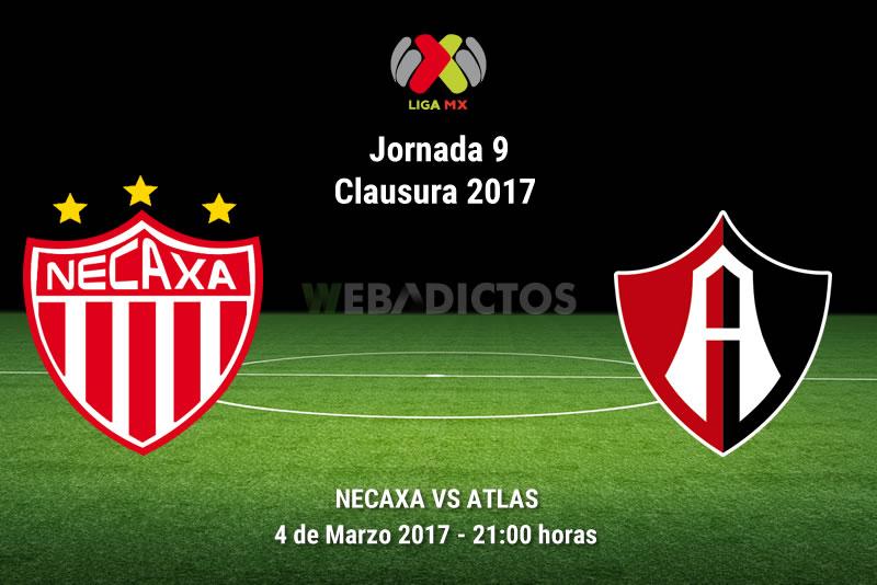 Necaxa vs Atlas, Jornada 9 del Clausura 2017   Resultado: 1-1 - necaxa-vs-atlas-j9-clausura-2017