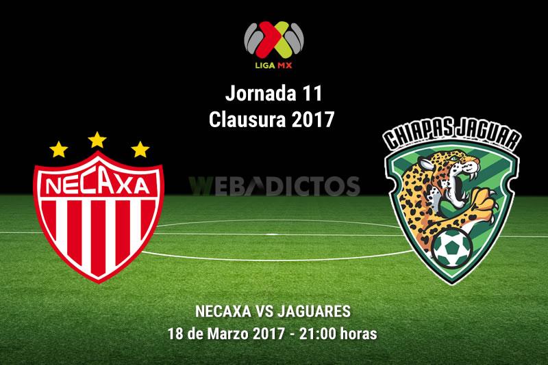 Necaxa vs Jaguares, Jornada 11 del Clausura 2017 ¡En vivo por internet!
