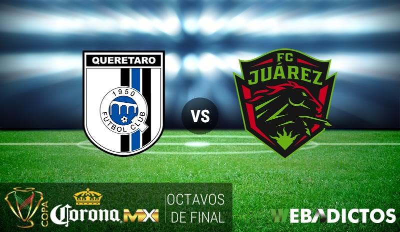 Querétaro vs Juárez, Copa MX Clausura 2017   Resultado: 1(1)-(4)1 - queretaro-vs-juarez-octavos-copa-mx-clausura-2017