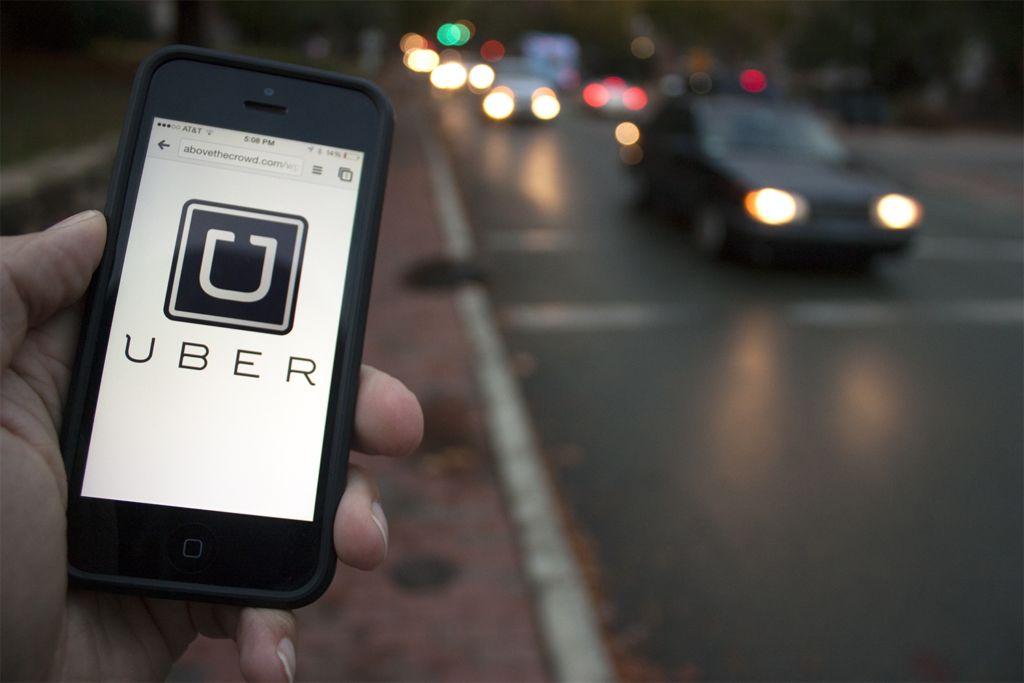 Uber usó un programa informático para evadir a las autoridades - uber-iphone-app