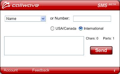 callwave1 Mandar Mensajes Gratis a Celulares
