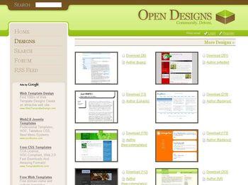 opendesignsorg Templates Web en CSS Gratuitas y listas para descargar