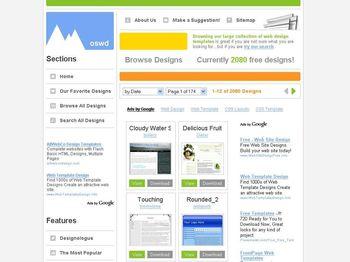 oswdorg Templates Web en CSS Gratuitas y listas para descargar