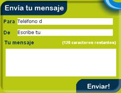 Enviar Mensajes Gratis a Celulares en México con Quiubas - quiubas_formulario_para_enviar_mensajes