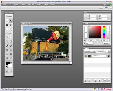 Splashup - Editor de Imagenes En Linea Similar a Photoshop - splashup