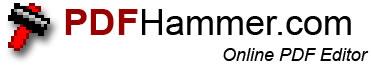Editor de Archivos PDF En Linea - logopdfhammer