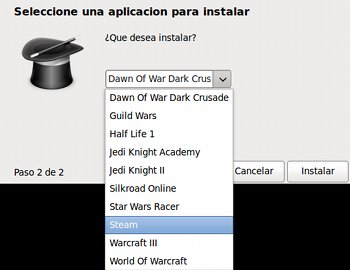 Instalar Juegos de Windows en Linux - instalar