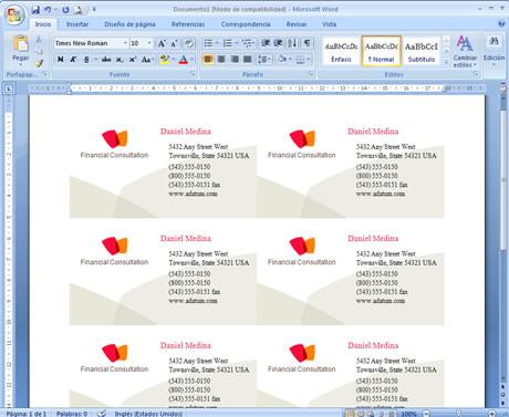 Crear Tarjetas de Presentación en Word - tarjetas-presentacion-word