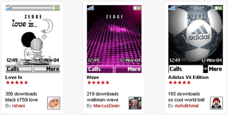 temas celular gratis Temas para celular, tonos, juegos y mas gratis en Zedge