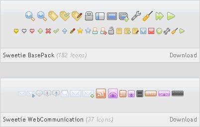 Iconos para aplicaciones Sweetie - iconos-aplicaciones-gratis