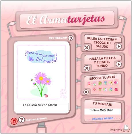 postales dia de la madre para imprimir Tarjetas del dia de la Madre para imprimir
