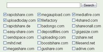 rapidshare search Buscar en rapidshare, megaupload y otros sitios en LoadEvery