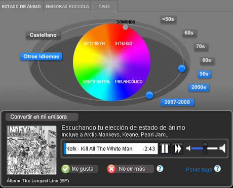 escuchar musica Escuchar musica en Rockola.fm