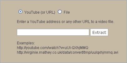 extraer audio youtube Extraer audio de videos