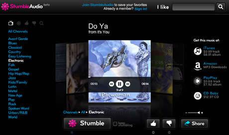 Musica nueva en StumbleAudio - musica-nueva