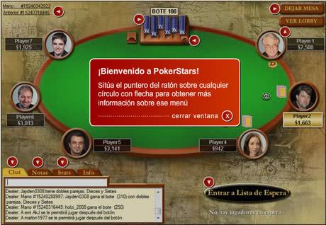 poker Poker gratis en español en Poker Stars