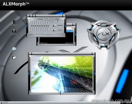 Temas Windows, AlienGUIse Theme Manager - temas-windows-alxmorph