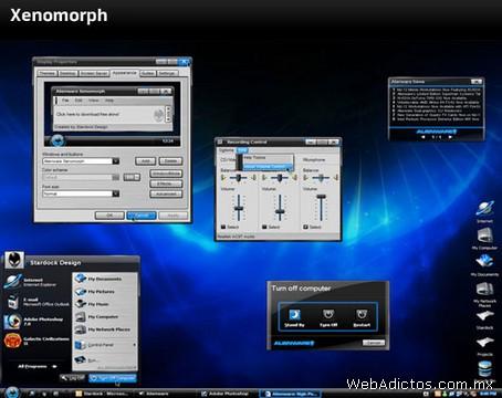 Temas Windows, AlienGUIse Theme Manager - temas-windows-xenomorph