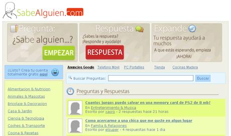Preguntas y respuestas en SabeAlguien.com - preguntas