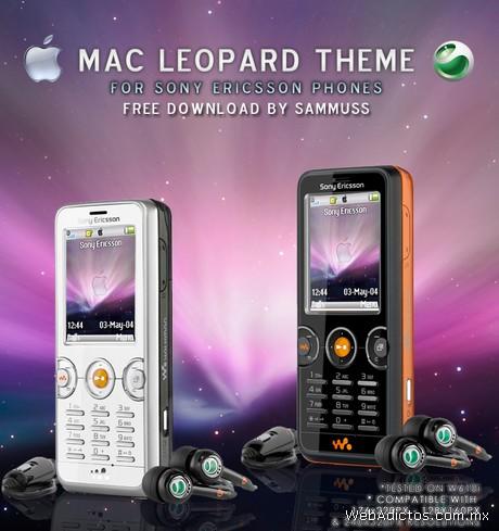 Temas sony ericsson, Mac Leopard y Fella - temas-sony-ericsson-leopard
