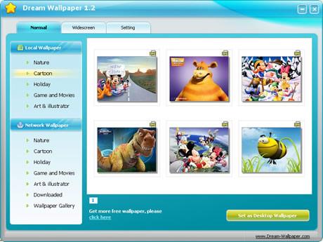 Fondos de pantalla para Windows con Dream Wallpaper - fondos-de-pantalla