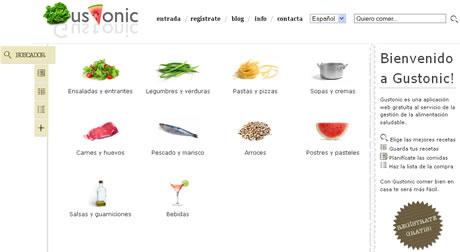Recetas de cocina en Gustonic - recetas-de-cocina