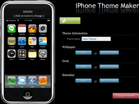 Temas iphone, crealos en iPhone Theme Maker - temas-iphone