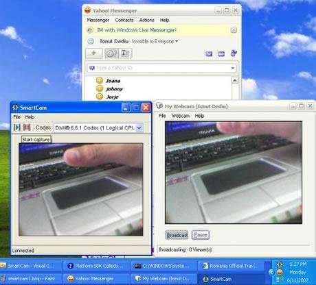 celular webcam smartcam Tu celular como WebCam gracias a SmartCam