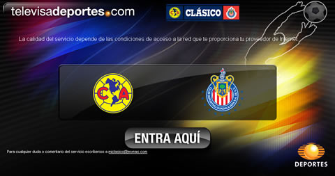 futbol mexicano america chivas Futbol mexicano, America vs Chivas online