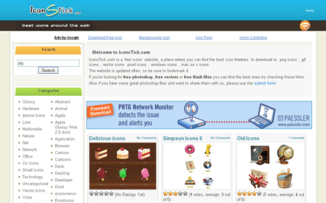 iconos gratis1 Iconos gratis en IconStick