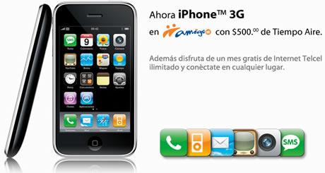 Precio del iPhone en Amigo Kit de Telcel - iphone-amigo
