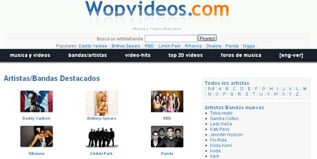 letras de musica videos Videos de musica y letras de canciones en WopVideos