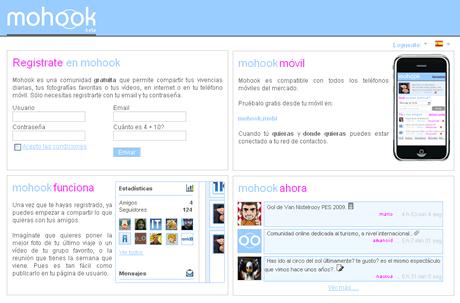 mohook Mohook comparte tus vivencias con tus amigos