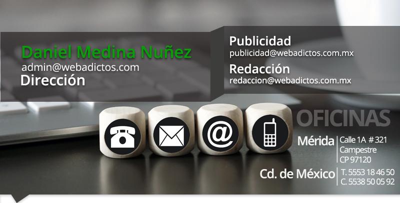 webadictos contacto original Contacto