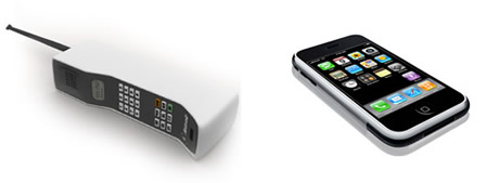 Gadgets del presente y del pasado que gran diferencia - gadgets-celulares