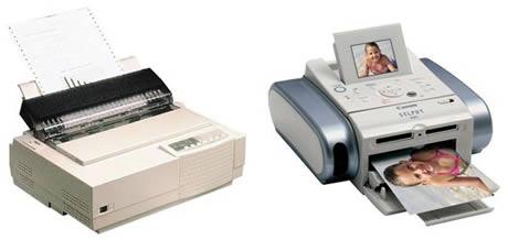 Gadgets del presente y del pasado que gran diferencia - gadgets-printer
