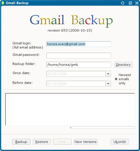 respaldar correos Respaldar correos de Gmail con Gmail Backup