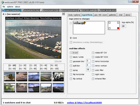 Transmitir video en internet con WebCam XP - transmitir-video